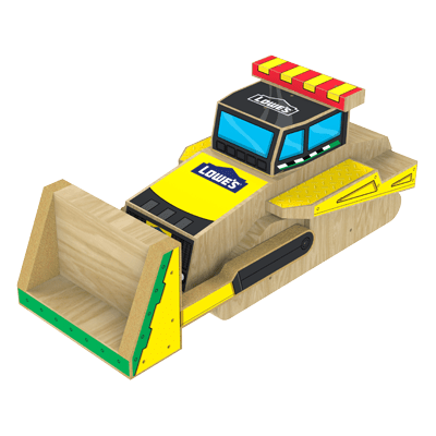 Free Bulldozer Build Kids Workshop at Lowe's
