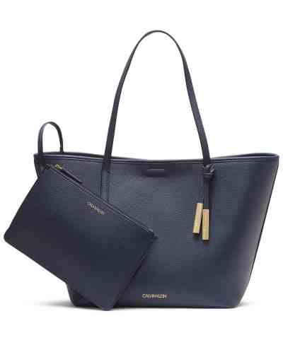 MACY'S: Calvin Klein Rachel Tote, Just $57.96 W/Code Free Shipping (Reg $138.00)