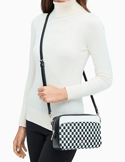 Kate Spade: Lauryn New Benay Spot Camera Bag for $59!!(Reg. $259.99)