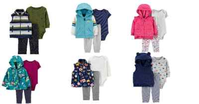 Carters: 50% OFF on 3-Piece Striped Little Sets