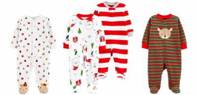 JCPenney: Carter's Holiday Sleepwear & Outfits From JUST $7.88 Each