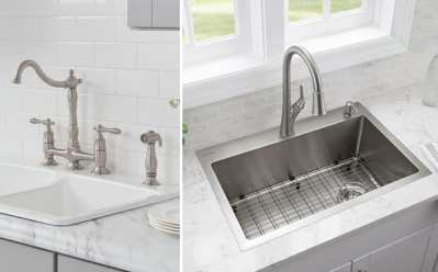 Home Depot: Kitchen Faucets, Sinks & Cabinets Starting at ONLY $18.95 + FREE Shipping (Today Only)