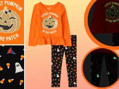 TCP: Girls' Halloween Glow Outfit Set ONLY $13 + FREE Shipping (Regularly $33)