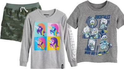Kohl's: Up to 86% Off Kids Clothing (Jumping Beans, Disney, Marvel) – From ONLY $1.68!