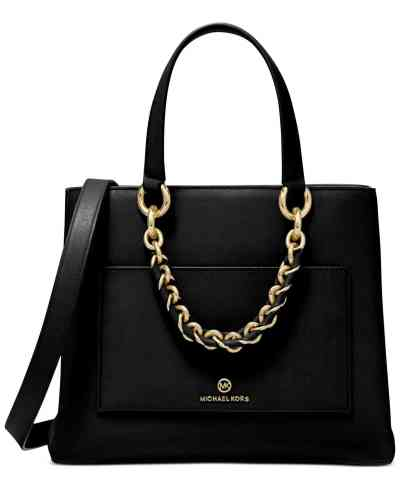 MACY'S: MICHAEL Michael Kors Cece Ribbon Chain Messenger Bag For $196.80 At Reg. $328.00