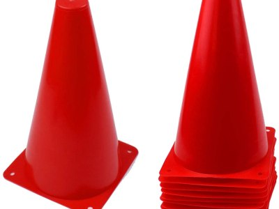 Amazon: 12 Pack 9 inch Traffic Cones - 70% Off at Checkout