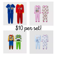 Target: 2 Sets of Pajamas for $10