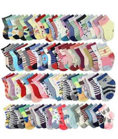 Amazon: 20 Pairs Baby Socks $7.99 (Reg. Price $15.99) after code!