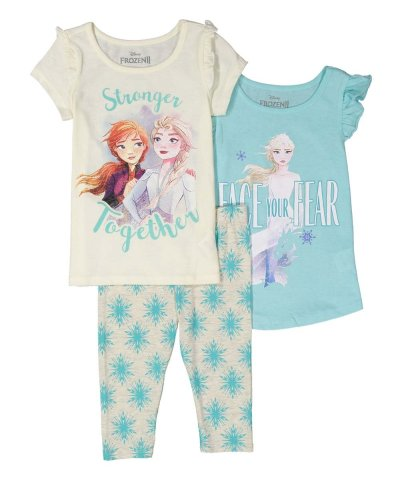 Zulily: Frozen 'Stronger Together' 3-Piece Tee Set Only $12.99 (Reg $44)