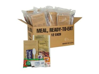 Woot: 5ive Star Gear Deluxe Field Ready Rations (MRE) $71.99 (Reg $129.95)