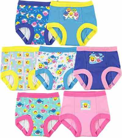 Amazon: 7 Pcs Baby Shark Potty Training Pant Multipacks for $14.98 (Reg.Price $19.99)