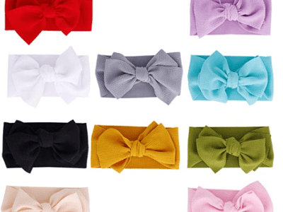 Amazon: Baby Girl Headbands Newborn Infant Toddler Hairbands - 50% Off W/Code
