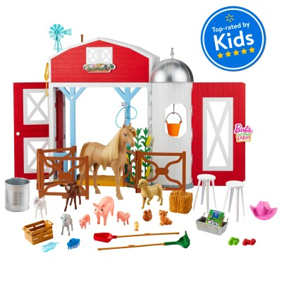 Walmart: Barbie Sweet Orchard Farm Playset with Barn For $59.00 Reg.$74.00
