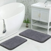 Amazon: Bathroom Rugs Mats Set, 2 Piece - 50% Off W/Code