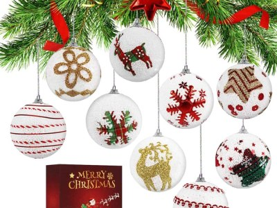 Amazon: Christmas Balls Ornaments, 9 Pack Only $4.99 after Code!