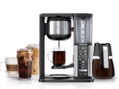 KOHL'S: Ninja Specialty Coffee Maker with Glass Carafe For $99.99 Reg.$189.99