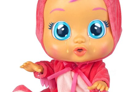 Amazon: Cry Babies Fancy The Flamingo Doll, Pink Just $14.69