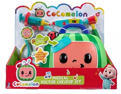 Kohl's: CoComelon Musical Doctor Checkup Set JUST $22.49