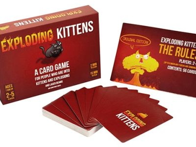 AMAZON: Exploding Kittens Card Game ONLY $9.99 (Reg $20.00)
