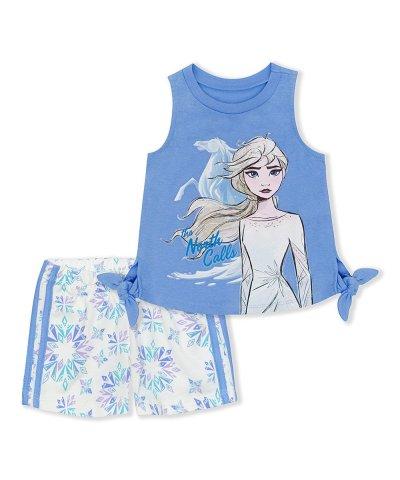 Zulily: Frozen Knot Tank & White Shorts Only $8.99 (Reg $32)