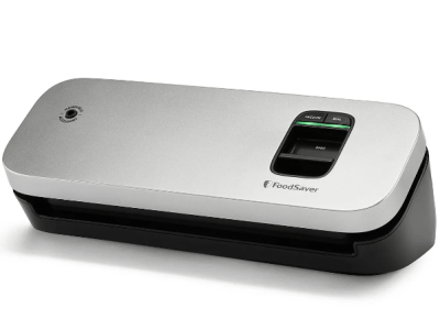 KOHL's: FoodSaver Space-Saving Food Vacuum Sealer For $59.49 Reg.$69.99