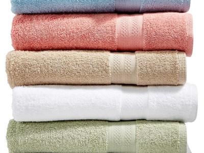 "Macy's: Sunham Soft Spun 27"" x 52"" Cotton Bath Towel for $2.99 (Reg $14.00)"