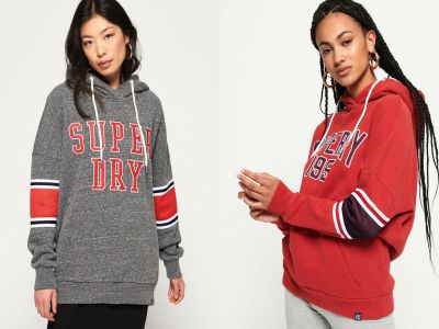 Amazon: Superdry Women's Playoff Hoodie JUST $19.35 (Reg $64.50)