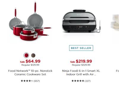 Kohl's: Kitchen Items Black Friday SALE
