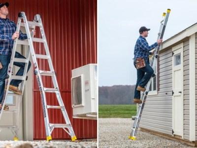 Home Depot: 18-Feet Reach Aluminum Multi-Position Ladder ONLY $79.88 (Reg $159)