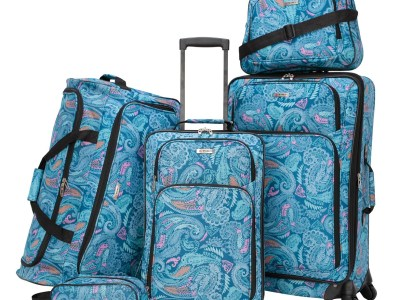 Macy's: Ridgefield 5 Pc. Softside Luggage Set Now $49.99 (Reg $240.00)