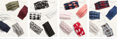 Old Navy: Variety 5-Pack of Triple-Layer Cloth For $6.25