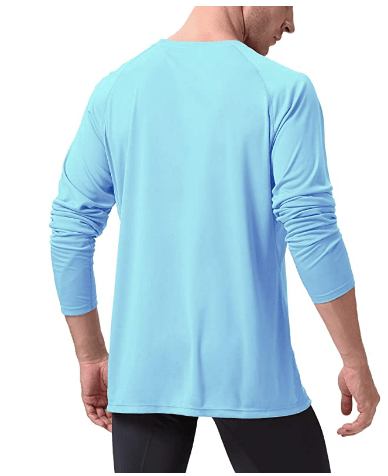 Amazon: Mens Long Sleeve Workout Running Gym T-Shirt - 50% Off W/Code