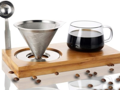 Amazon: Pour Over Coffee Dripper Set - 78% Off Code