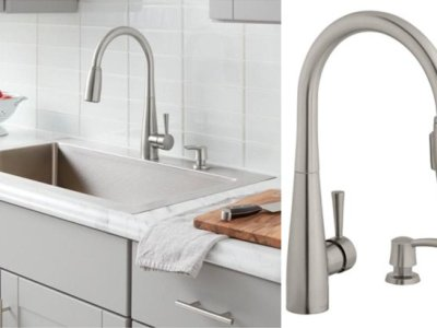 Home Depot: Pull-Down Sprayer Kitchen Faucet ONLY $79 Shipped!