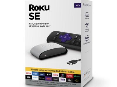 Walmart: Roku SE Streaming Media Player For $17.00