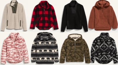 Old Navy: Sherpa Pullovers For Just $10