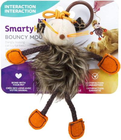 Amazon: SmartyKat Bouncy Mouse Cat Toy For ONLY $1.97