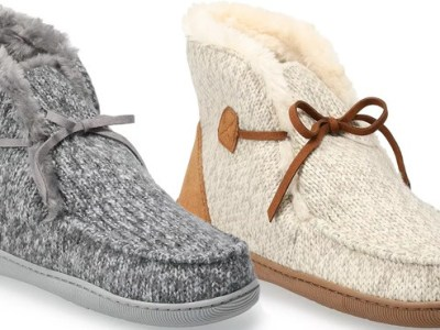 Kohl's: Sonoma Slippers $8.50 (Reg $34)