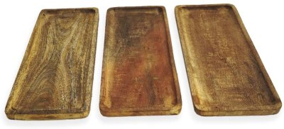 Amazon: Set of 3 Wood Serving Platter Only $6.99