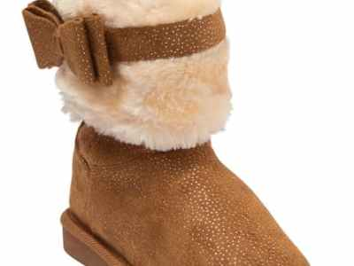 Nordstrom Rack: Shimmer Microsuede Faux Fur Short Boot For $14.97 Reg.$48