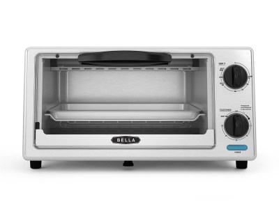 Macy's: Bella 4-Slice Stainless Steel Toaster Oven Now $19.99 (Reg $44.99)