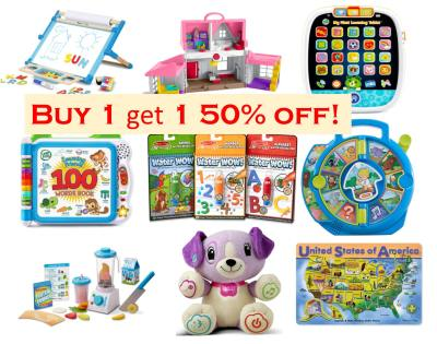 Amazon: Buy 1 Get 1 50% Off on Melissa & Doug Toys
