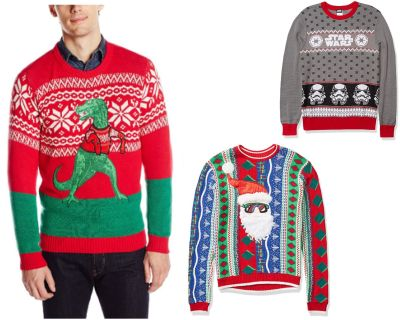 Amazon: Ugly Holiday Sweaters - Up to 30% OFF