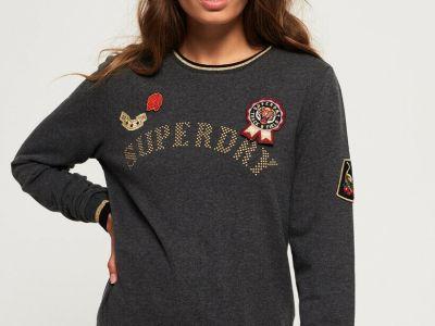 eBay: Superdry Women's Rose Army Crew Neck Sweatshirt JUST $17.85 (Reg $59.50)