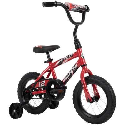 """Walmart: Huffy 12"""" Rock It Boys' Bike for Kids, Crimson Red For $29.00"""