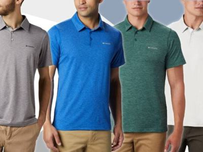 Amazon: Columbia Men's Polo Shirt JUST $19 (Reg $40)