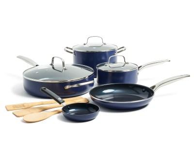 Walmart: Nonstick Ceramic 11-Piece Cookware Set For $49.00 Reg.$89.99