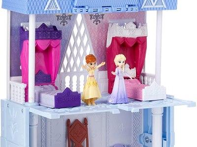 Amazon: Disney Frozen Pop Adventures Arendelle Castle Playset Now $20.39
