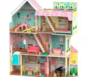 Sam's Club: KidKraft Mia's Pet Loft Dollhouse $$99.98