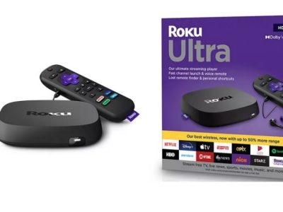 Kohls: Roku Ultra Streaming Player $54.99 ($100) After KC